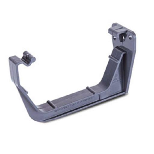 Anthracite Square Gutter Fascia Bracket