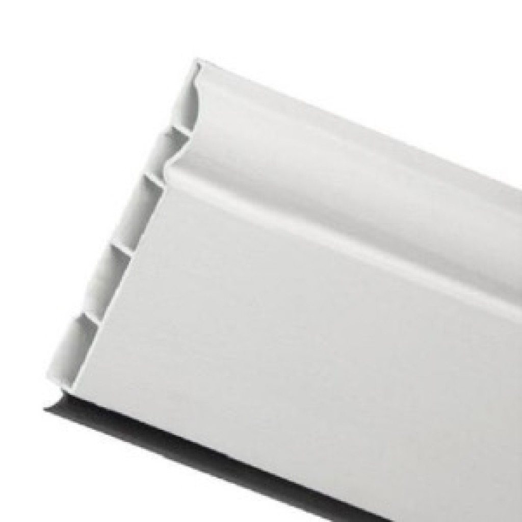 White Eurocell Ogee Skirting Board