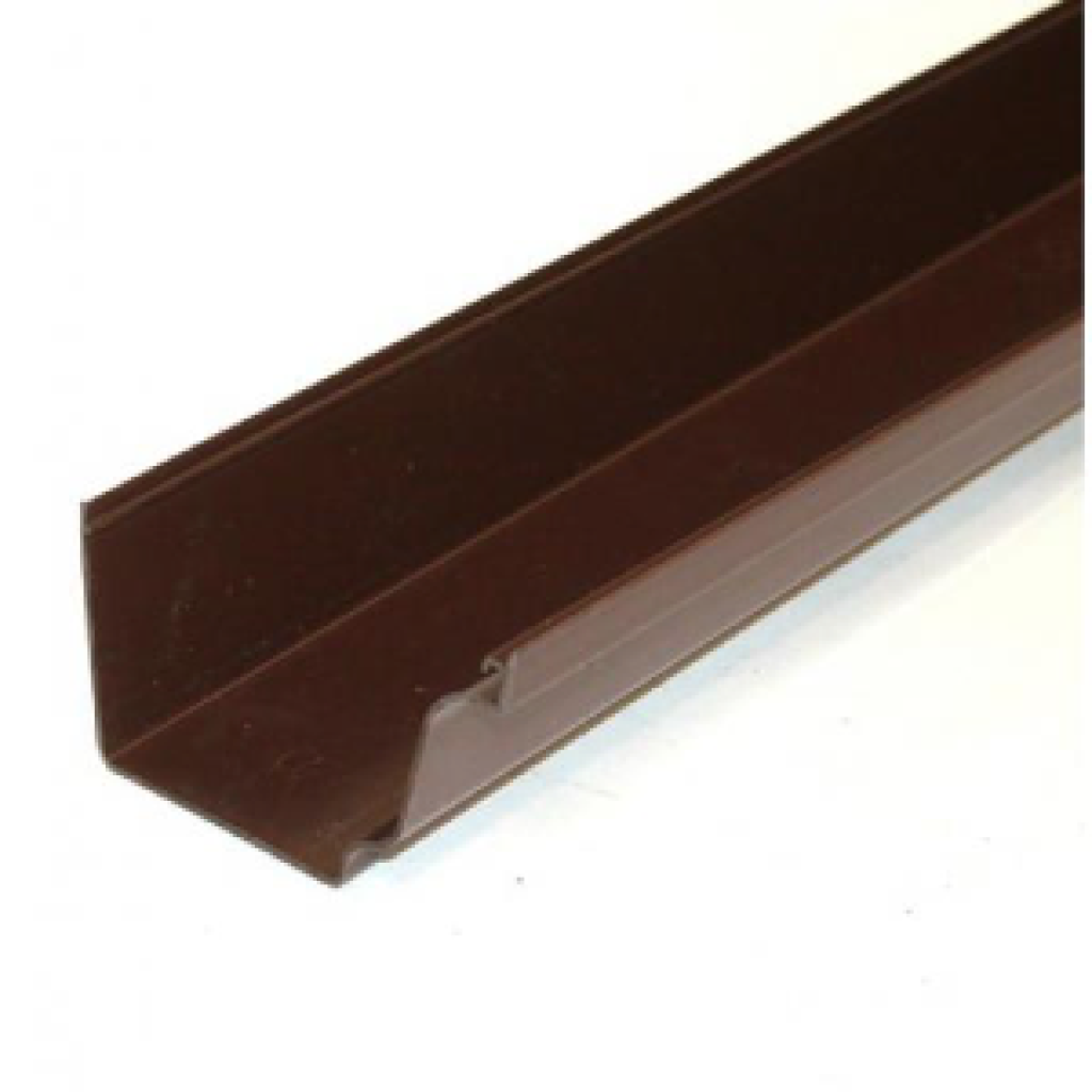 Eurocell Brown Square Gutter