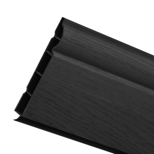 150mm Anthracite UPVC Skirting Board - 5m Torus