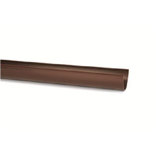 Brown Deepflow Gutter 4m
