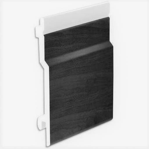 Shiplap Open-V Cladding 100mm Anthracite PVC