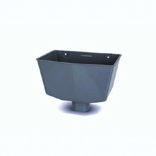 Anthracite Rainwater Hopper - Universal Fitting
