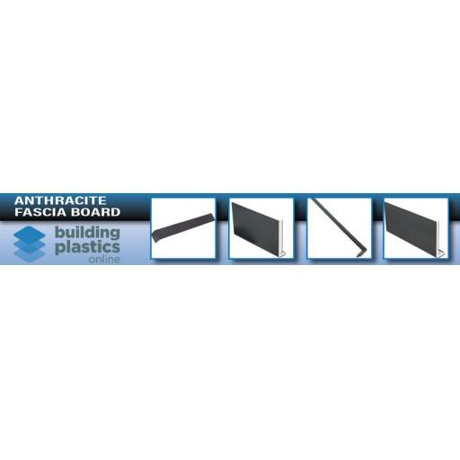 Anthracite UPVC Fascia Board