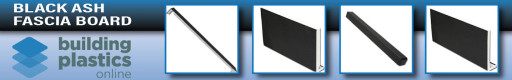 Black Ash UPVC Fascia Board