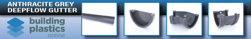 Anthracite Deepflow Gutter & Fittings