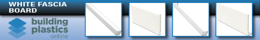 White UPVC Fascia Board