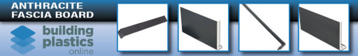 Anthracite UPVC Fascia Board