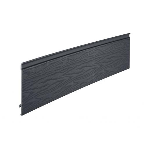 Anthracite Grey Coastline Exterior Cladding 203mm x 5m