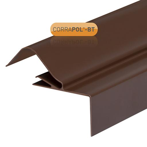 Brown CORRAPOL-BT Rock N Lock Side Flashing