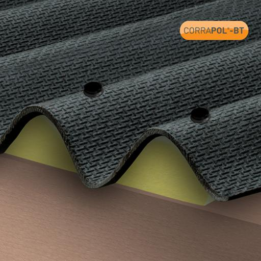 Black Corrapol-BT Corrugated Bitumen