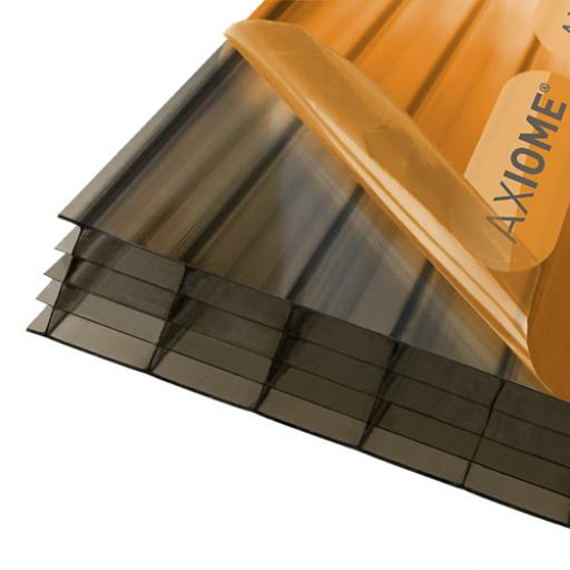 25mm Bronze Axiome Multiwall Polycarbonate