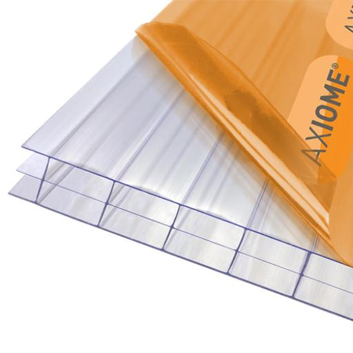 16mm Clear Axiome Triplewall Polycarbonate