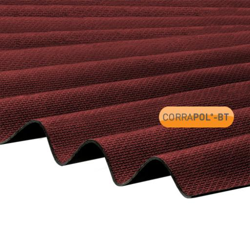 Red Corrapol-BT Corrugated Bitumen