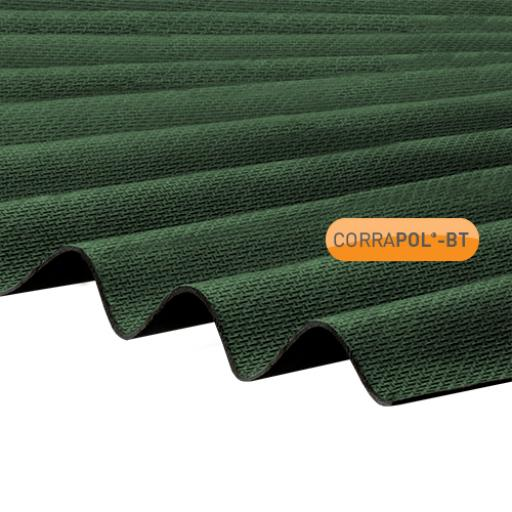 Green Corrapol-BT Corrugated Bitumen