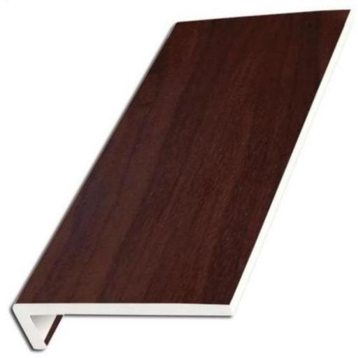 Rosewood UPVC Internal Window Sill Cover Square Edge