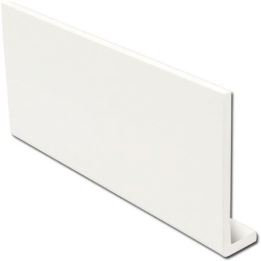 White Fascia Capping Boards Square 9mm x 5mtr
