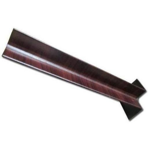 450mm Rosewood Internal Fascia Corner Joint