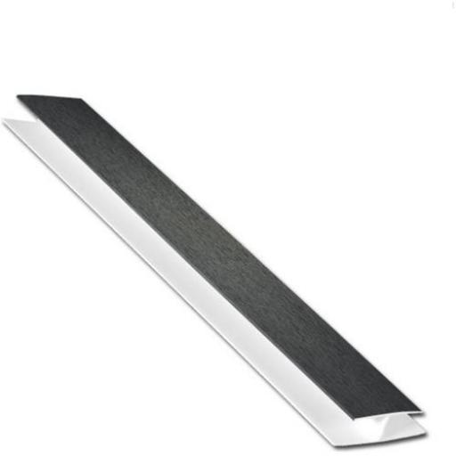 Anthracite Soffit Board H Section 5mt