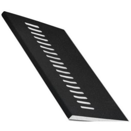 Black Ash UPVC Vented Soffit Board
