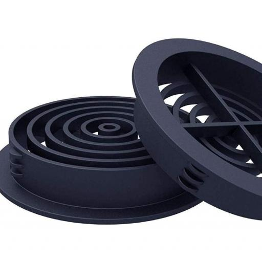 Soffit Board Circular Soffit Vent Anthracite