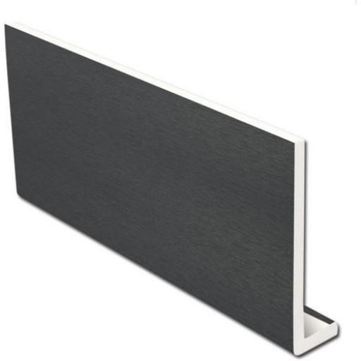 Anthracite Fascia Capping Board Dark Grey 9mm / 5m