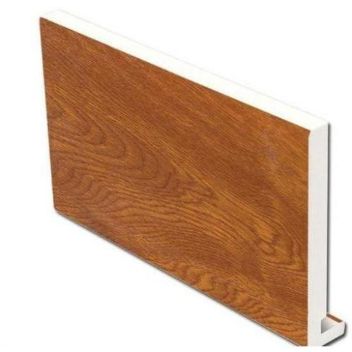 Golden Oak Replacement Fascia Board 18mm x 5m