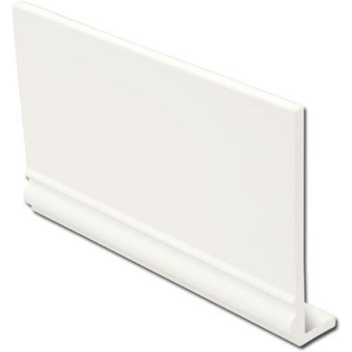 White Fascia Capping Boards Ogee 9mm x 5mtr
