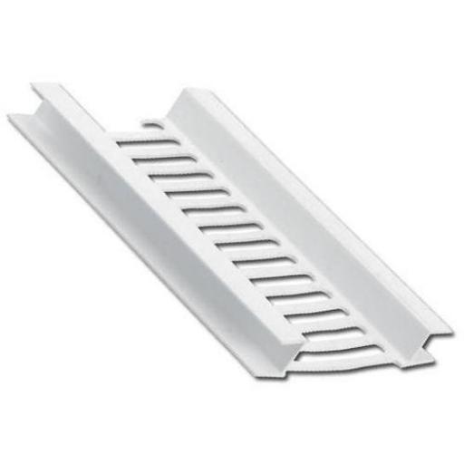 Soffit Vent Strip White 5mt