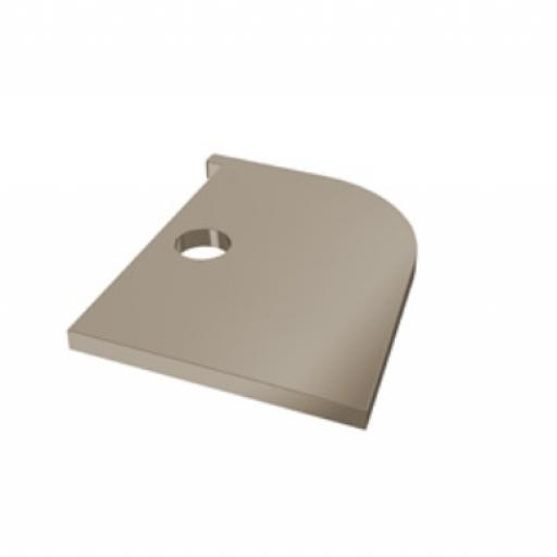 Window Head Trim End Closer Taupe Coastline