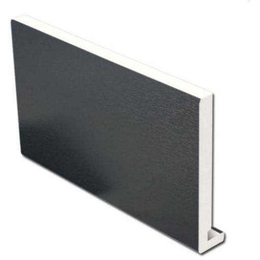 Anthracite Replacement Fascia Board Dark Grey 18mm / 5m