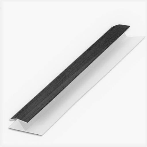 Shiplap H Section Jointing Trim Anthracite