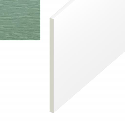 Chartwell Green Plain UPVC Soffit Board