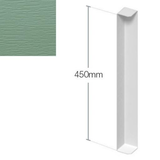 450mm Chartwell Green Fascia Corner - Double Ended