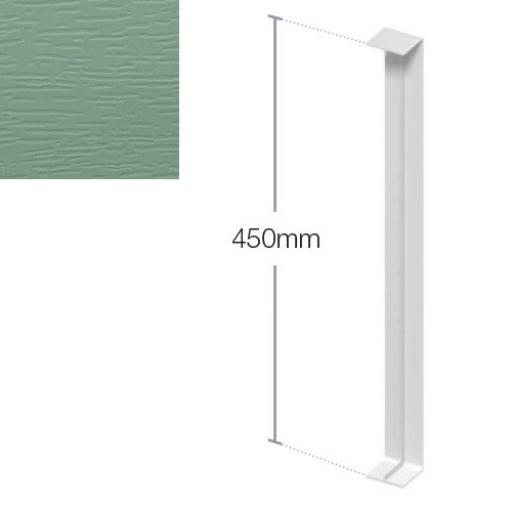 450mm Chartwell Green Fascia Joint - Double Ended